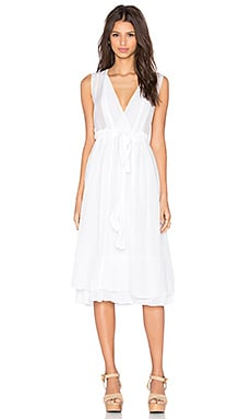 CP SHADES Julia Dress in White