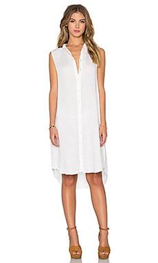 CP SHADES Mara Shirtdress in White