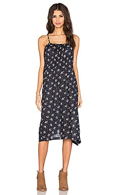 Elyse Floral Dress in Navy Floral