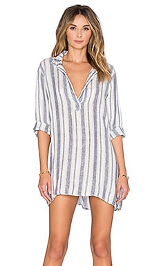 CP SHADES Kendall Stripe Tunic in Navy Stripe