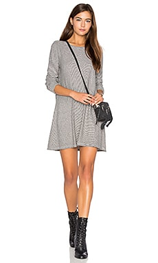 Mercedes Sweater Dress in Grey Melange