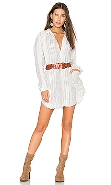 Teton Tunic in White & Blue Stripe