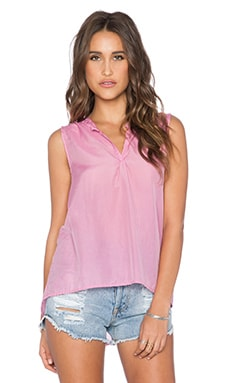 CP SHADES Chia V Neck Tank in Azalea