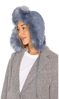 Fashion Helmut Faux Fur Hat Charlotte Simone $125