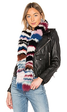 Chunky Monkey Fox Fur Scarf Charlotte Simone $263