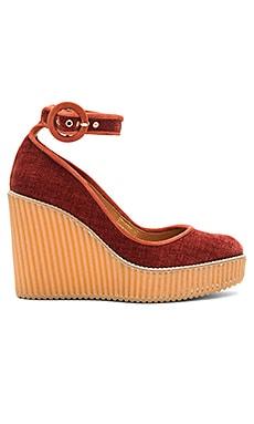 Обувь на танкетке quintay - Castaner
