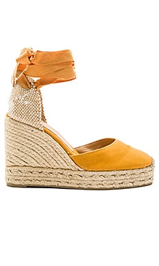 Carina Wedge in Ocre