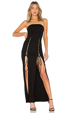 Макси платье без бретелек phoebe - Chrissy Teigen