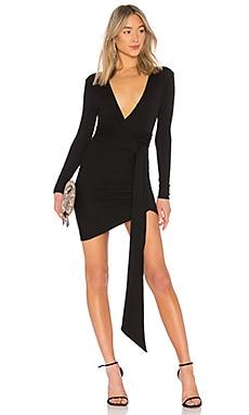 Купить Мини-платье с длинным рукавом vilailuck - Chrissy Teigen, Облегающие, Китай, Черный