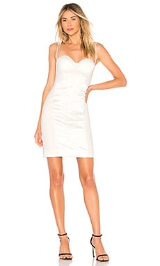 Купить Платье миди bala - Chrissy Teigen белого цвета