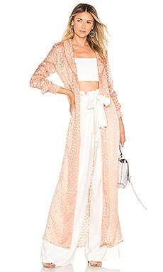 Купить Пальто diana - Chrissy Teigen розового цвета
