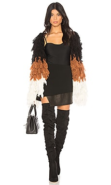x REVOLVE Shaggy Coat