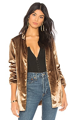 x REVOLVE Thai Tea Sport Coat Chrissy Teigen $57