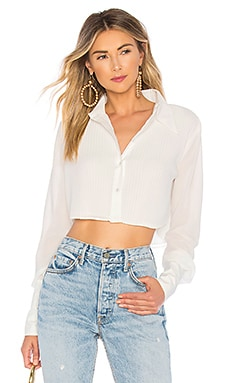 x REVOLVE Naga Button Down Top Chrissy Teigen $45 (FINAL SALE)