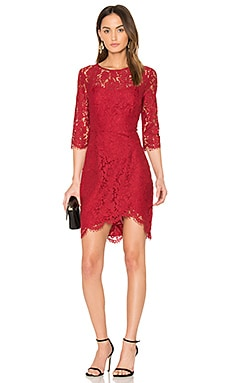 Joby Dress in Brick Red