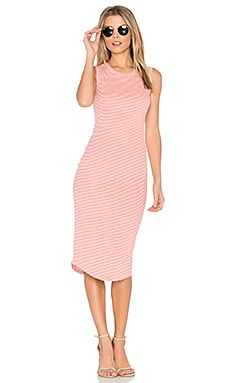 Rydell Dress in Coral