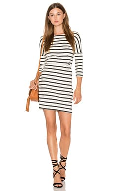 cupcakes and cashmere Everest Dress in Stripe