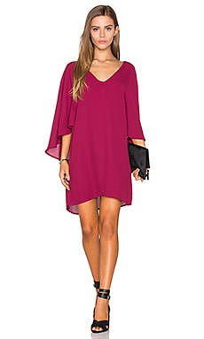 cupcakes and cashmere Suki Dress in Red Velvet