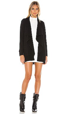 Marta Sweater Drape Front Jacket cupcakes and cashmere $89