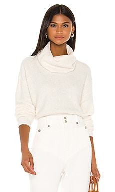 Joanna Cowl Neck Sweater cupcakes and cashmere $118 BEST SELLER