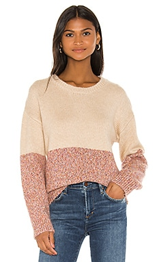 Carmel Crew Neck Sweater cupcakes and cashmere $108
