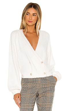 Mika Double Breasted Cardigan cupcakes and cashmere $63