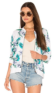 Anjelica Bomber in White