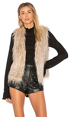 Faux Fur Arlington Vest