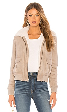 Ira Reversible Jacket With Faux Fur Lining cupcakes and cashmere $155