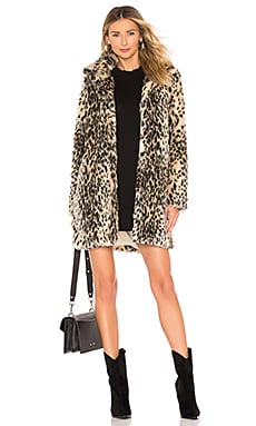 Adamia Faux Fur Coat cupcakes and cashmere $188