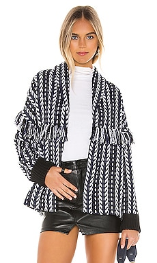 Kirsty Longline Tweed Bomber cupcakes and cashmere $138 BEST SELLER