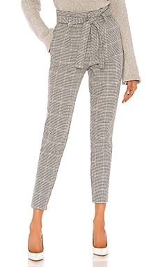 Tallulah High Waist Houndstooth Pant cupcakes and cashmere $108