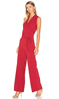 Margo Jumpsuit in Brick Red