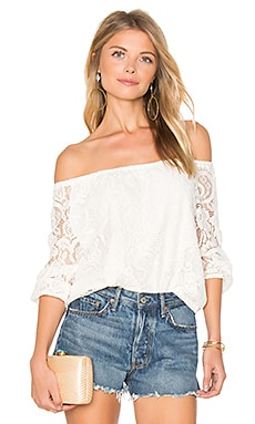Karla Top in Ivory