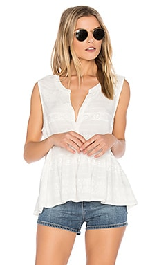 Hughes Top in Ivory
