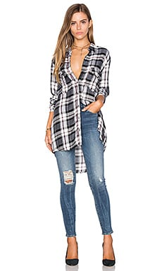 cupcakes and cashmere Cruz Top in Plaid