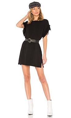 Купить Платье - Current/Elliott черного цвета