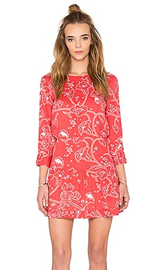 Current/Elliott The Tennant Cut Out Dress in Chrysanthemum Bandana Paisley