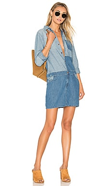 Current/Elliott The Whitney Shirt Dress in Ashore