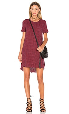 Current/Elliott The Fray Edge Shift Dress in Dorothy Check