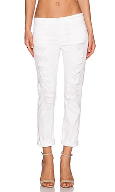 Jean Fling en White Tattered