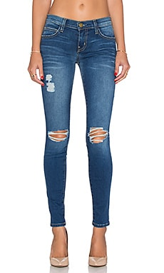 Current/Elliott The Ankle Skinny in Blakely Destroy