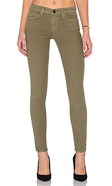 Current/Elliott The Ankle Skinny in Army Green
