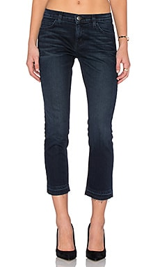 Current/Elliott The Cropped Straight in Noir