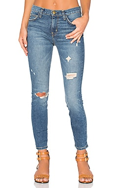 JEANS CROPPED THE HIGH WAIST STILETTO