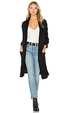 The Long Slash Pocket Cardigan