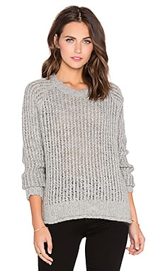 Current/Elliott The Dock Sweater in Light Heather Grey