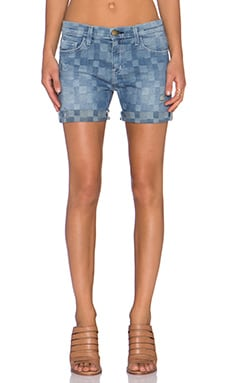 Current/Elliott The Slouchy Cut Off Short in Monterey Destroy