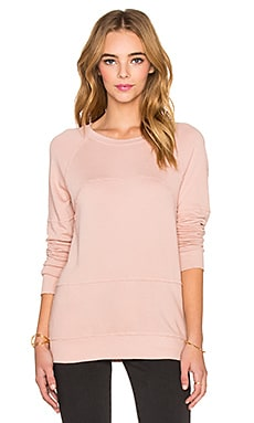 Current/Elliott The Lunar Sweatshirt in Coral Rose