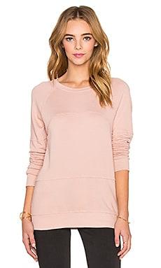 Current/Elliott The Lunar Sweatshirt in Coral Rose